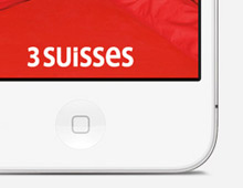 3 Suisses – Application Iphone