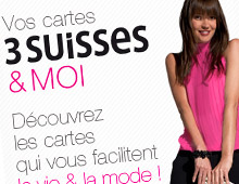 3 Suisses – Page Mobile